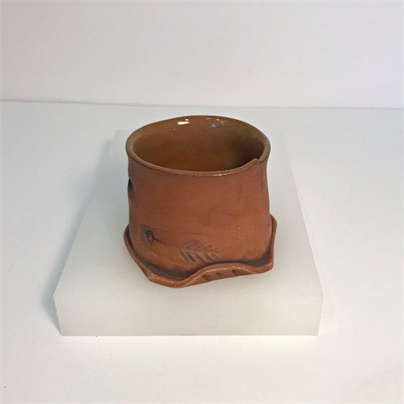"Brendan Roddy | Tumbler | Ceramic | 4.25"" X 4"" 