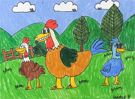 Lenskland the Rooster