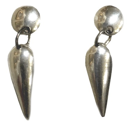 Earrings - Sterling Silver Chillito E-012