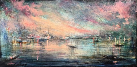 New England Harbour at Twilight