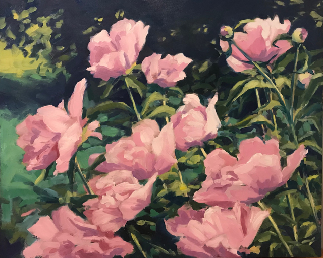"Margaret Gerding | Quiet Evening | Oil on Panel | 20"" X 22"" | Sold"