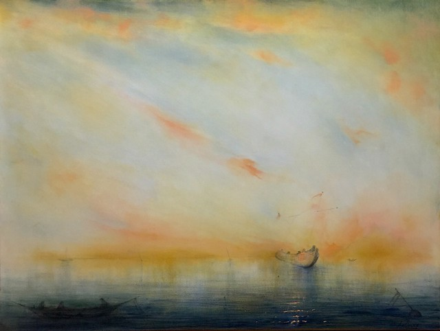 "John LeCours | Nederzee Daydream #12 | Oil on Canvas | 36"" X 48"" 