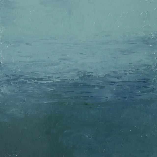 "Ellen Welch Granter | Limpid | Oil on Panel | 20"" X 20"" | $2,000.00"