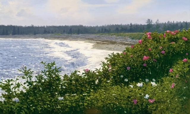 Cranberry Beach  9 x 15