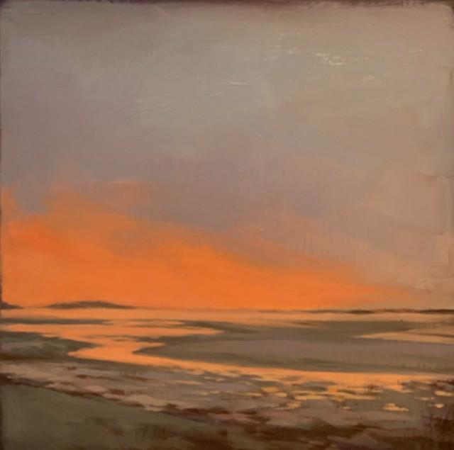 "Margaret Gerding   Maine Moments - Day 11   Oil on Panel   8"" X 8""   Sold"