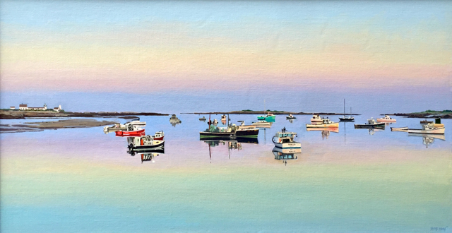 "William B. Hoyt | Tranquility | Oil | 24"" X 46"" 