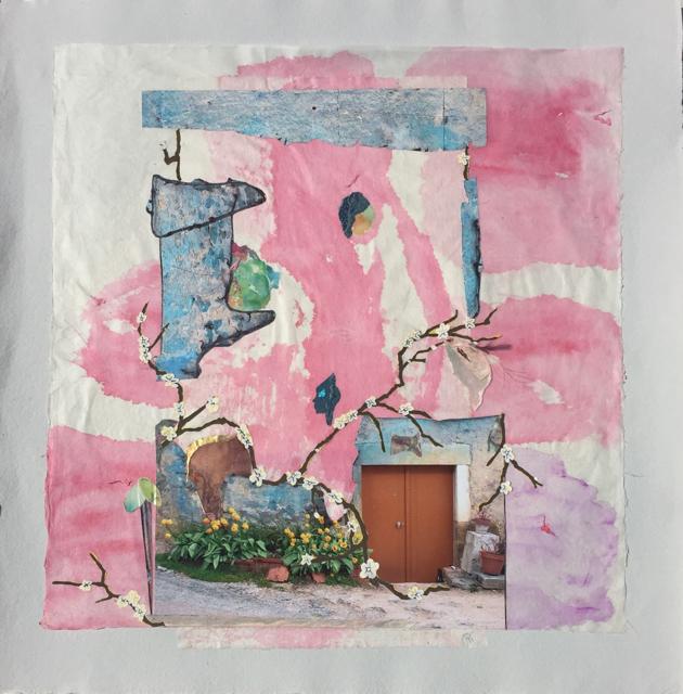 "Patricia Taylor   Life   Multi Media on Handmade Paper   20.62"" X 20""   $700.00"