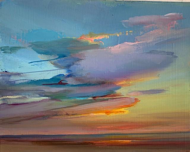 "Holly Ready | Midsummer Sunrise | Oil on Board | 8"" X 10"" | $700.00"