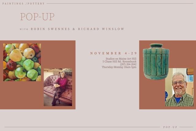 Pop-Up with Robin Swennes & Richard Winslow