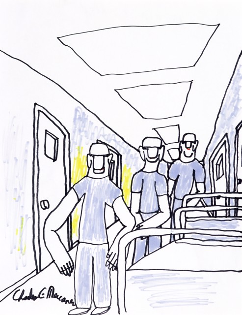 Men in Hospital