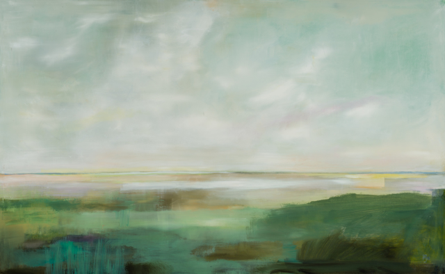 "Ingunn Milla Joergensen | Those Early Hours | Oil on Canvas | 30"" X 48"" 