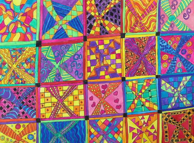 Psychedelic Quilt
