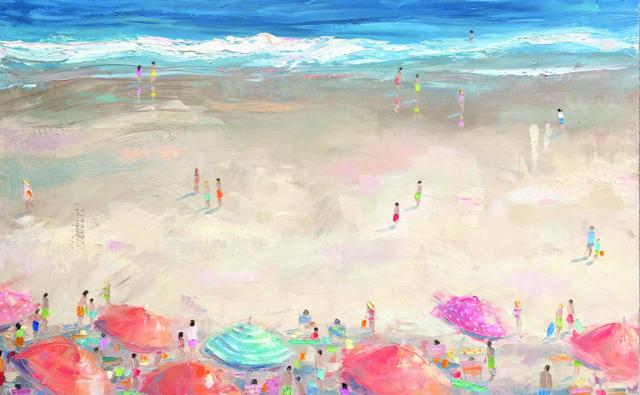"Bethany Harper Williams | Lovin' Summer | Oil | 30"" X 48"" | Sold"