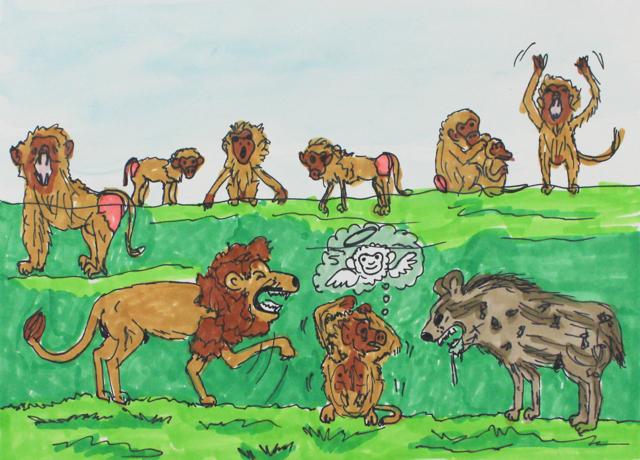 Animal Kingdom: Between Life and Death