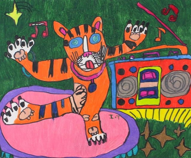 My Dancing Tiger