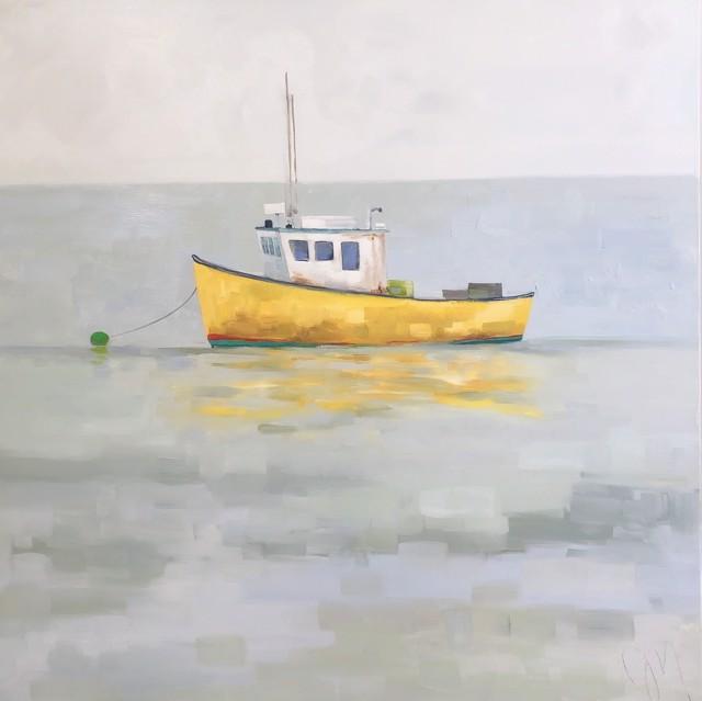"Jill Matthews | Restless | Oil on Canvas | 36"" X 36"" | $2,950.00"