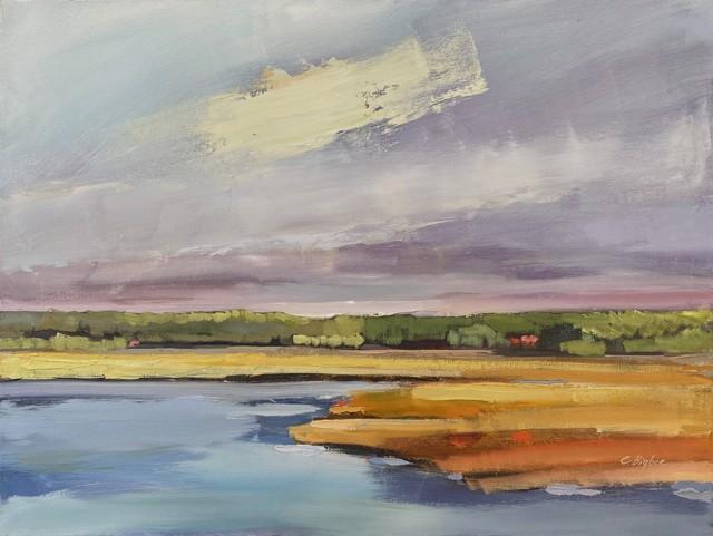"Claire Bigbee | Batson River Saltmarsh II | Oil | 18"" X 24"" | $2,250.00"
