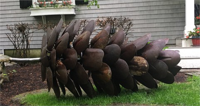 8' Lay Down Pine Cone Commission