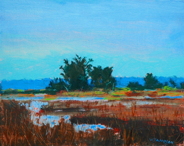 Red Marsh at High Tide