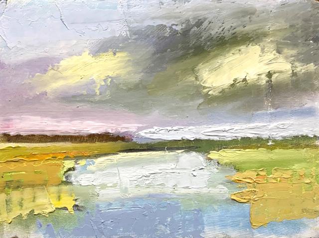Salt Marsh, Ogunquit River Study #2