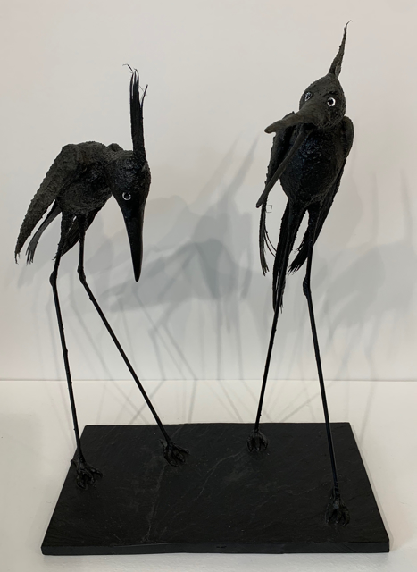 2 Tall Herons