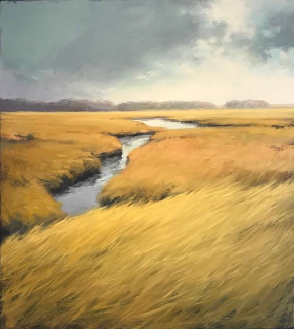 """Margaret Gerding   Autumn - Late Sun   Oil on Canvas   40"""" X 36""""   Sold"""