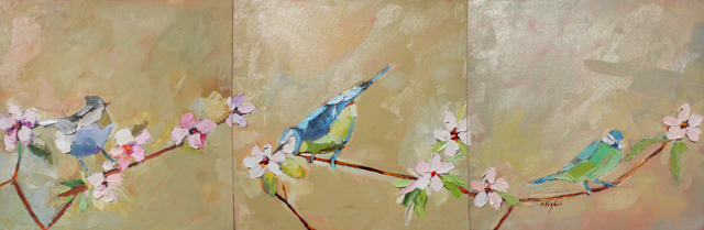 The New Voice of Spring - Triptych