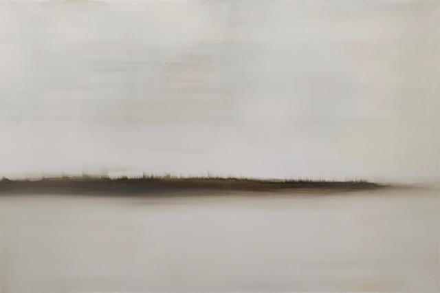 "Charles Bluett | Distant Dune - Artist's Choice 2019 | Acrylic on Canvas | 40"" X 60"" | Sold"