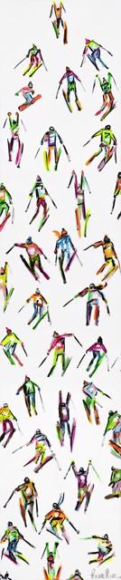 Tall Neon Skiiers