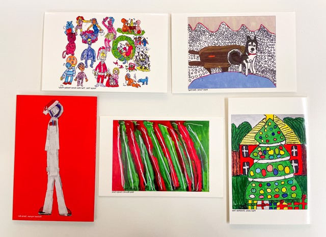 Holiday Greeting Cards 5 Pack, Edition 3
