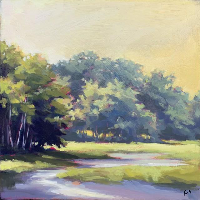 """Margaret Gerding   Maine Moments - Day 10   Oil on Panel   12"""" X 12""""   $1,750.00"""