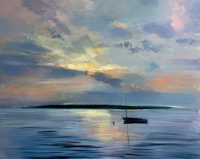 "Craig Mooney   Luminous Sky   Oil on Canvas   48"" X 60""   Sold"