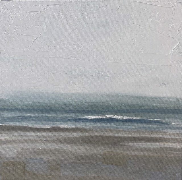 "Jill Matthews | Foggy Gooches | Oil on Canvas | 12"" X 12"" | $595.00"