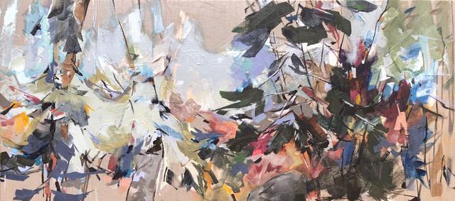 Spruce Dance, Matisse and Burchfield