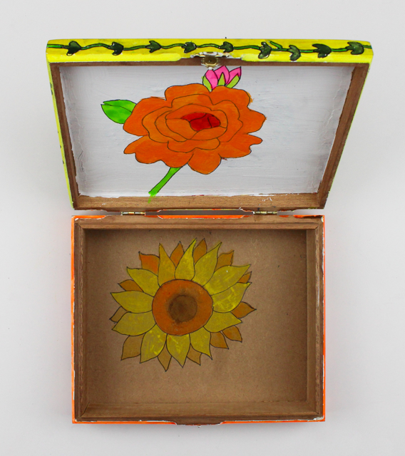 Flower Box (cigar box)