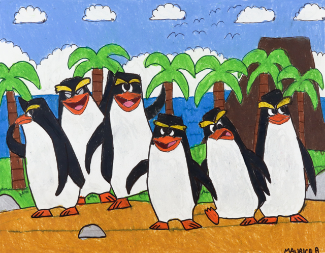 Penguins Island