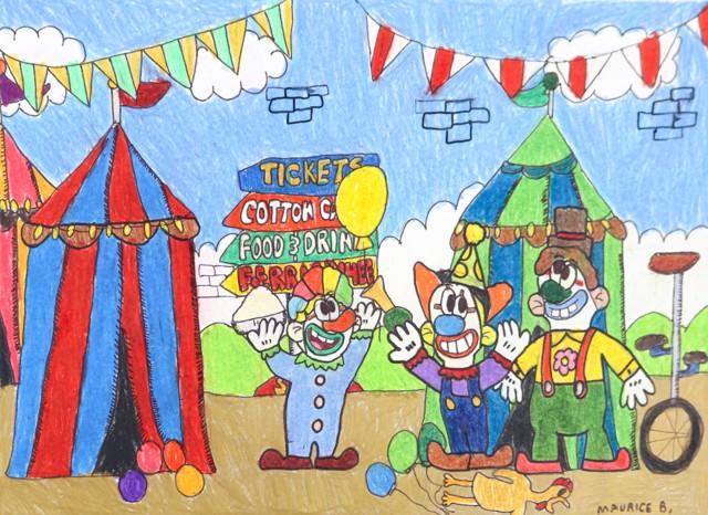 Circus Show Clowns