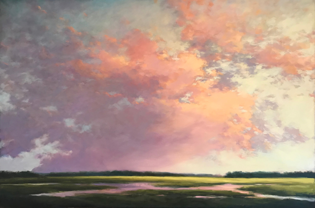 "Margaret Gerding | Magnificent | Oil on Canvas | 40"" X 60"" 