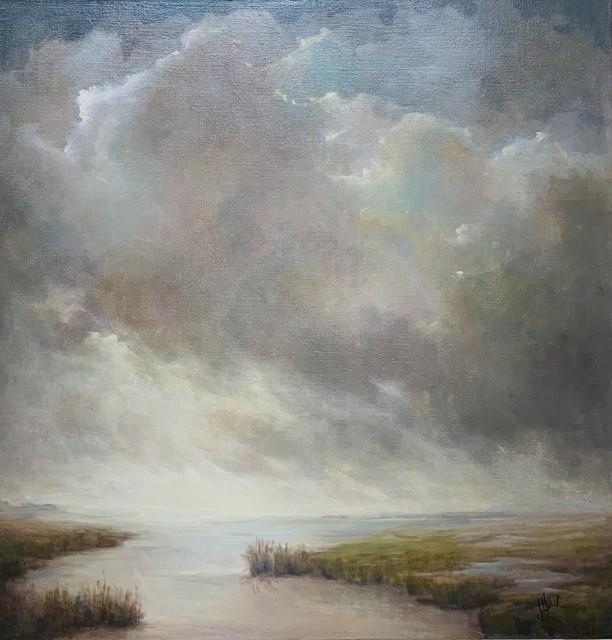 "Julie Houck | Elevation | Oil on Linen | 37.62"" X 36"" | $4,800.00"