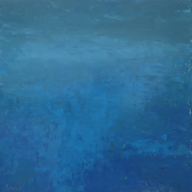 "Ellen Welch Granter | London Topaz | Oil on Panel | 20"" X 20"" | $2,000.00"