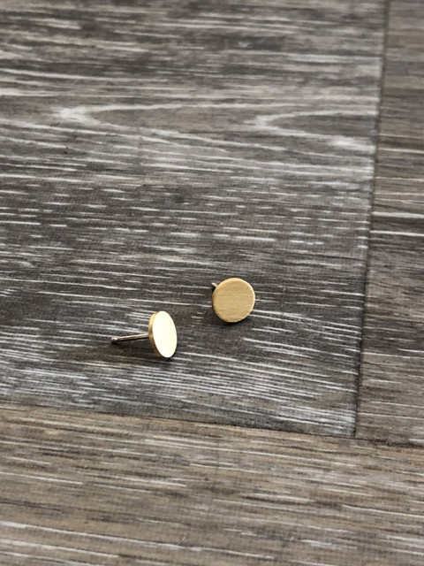 Small Circle Post Earring