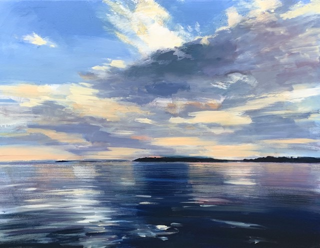 "Craig Mooney | Ocean Sky | Oil on Canvas | 36"" X 48"" 