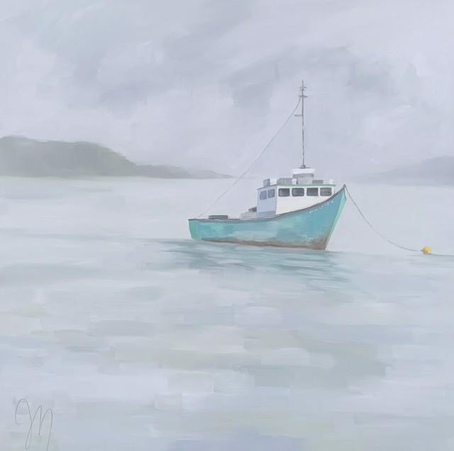"Jill Matthews | Calypso | Oil on Canvas | 36"" X 36"" | $2,950.00"
