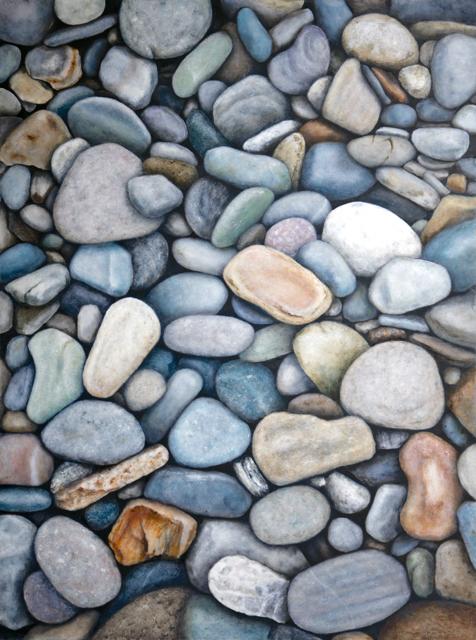 Stones at Biddeford Pool