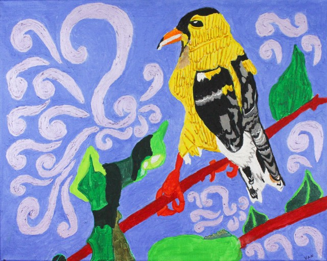 Hensley Monroe Commission The Golden Finch - Finished