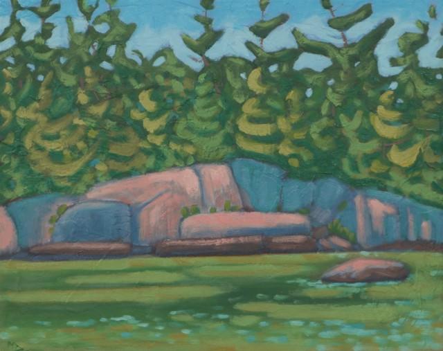 "R. Scott Baltz | Emerald Tide | Oil on Panel | 8"" X 10"" | Sold"
