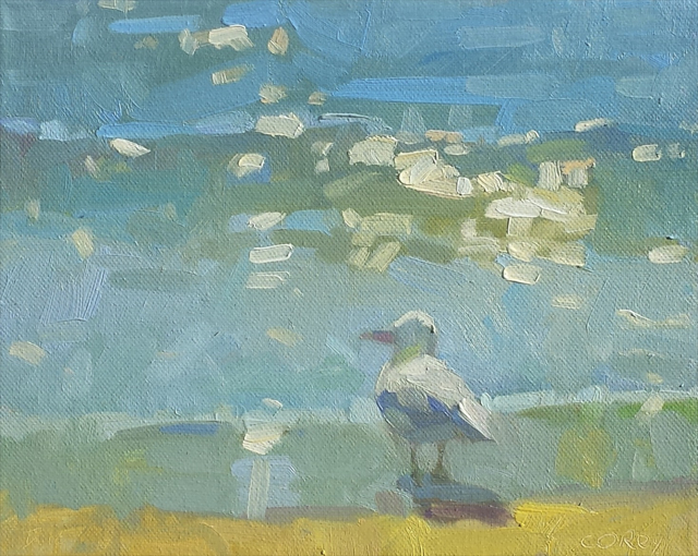 "Daniel J. Corey | Summer | Oil | 8"" X 10"" 