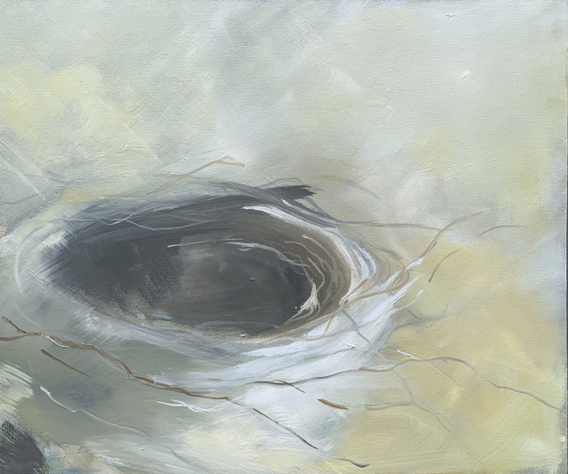 "Ingunn Milla Joergensen | Nest #5 | Oil on Canvas | 20"" X 24"" 