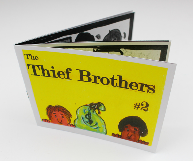 The Thief Brothers #2: A Mini-Book (in Black and White)