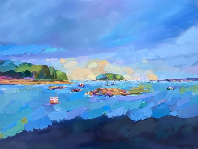 The Prettiest Harbor In Maine